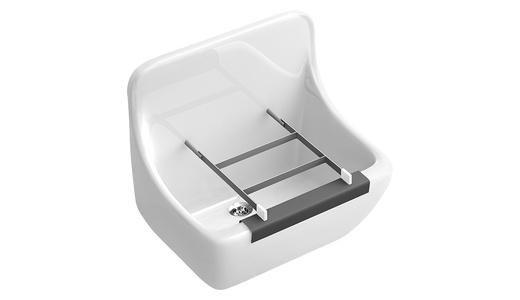 ausgussbecken waschtr ge und zubeh r sp lbecken. Black Bedroom Furniture Sets. Home Design Ideas