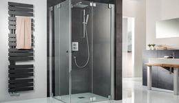 Teilgerahmte Duschabtrennungen
