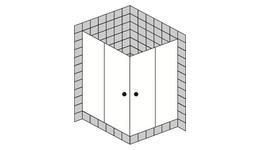 4 - Eck Duschen