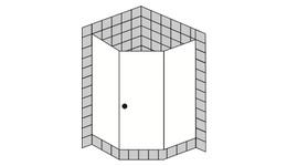 5 - Eck Duschen