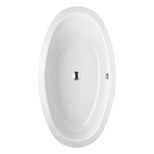 Home Oval Einbaubadewanne 180 × 100 × 45 cm
