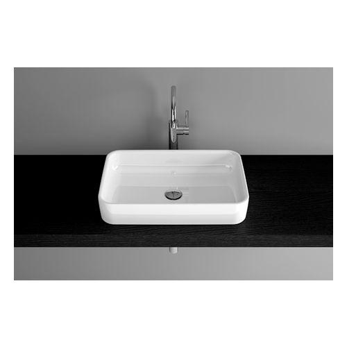 Aufsatzwaschtisch BetteArt, 60 x 40 x 11 cm, weiß
