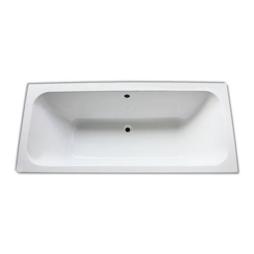 Acryl-Badewanne 180 × 80 cm, made by Ideal Standard inklusive Wannenfüße und Ablaufgarnitur 1