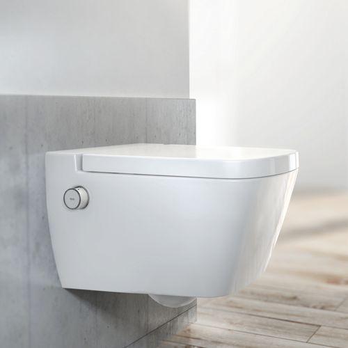 TECEOne Tiefspül-WC TECEone, spülrandlos, mit Duschfunktion inkl. WC-Sitz mit Absenkautomatik