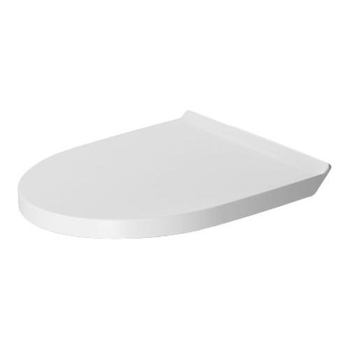 DuraStyle WC-Sitz mit Absenkautomatik Scharniere edelstahl, weiss 002079