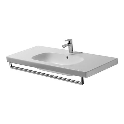 duravit duravit vero handtuchhalter f r waschtisch 032910 100 9 cm design in bad. Black Bedroom Furniture Sets. Home Design Ideas
