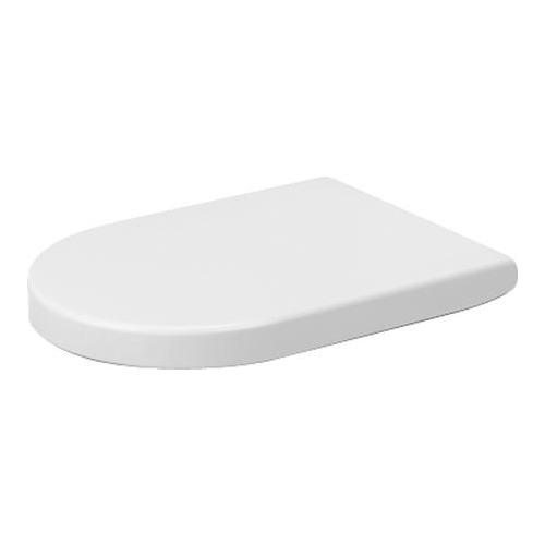 Starck 2 WC-Sitz ohne Absenkautomatik weiß 006332