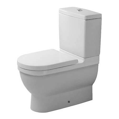 Starck 3 Stand-WC Kombi Tiefspüler 655 mm 012809