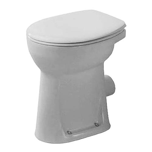 Duraplus Sudan Stand-WC weiß Flachspüler Abgang waag. 465 mm 021209