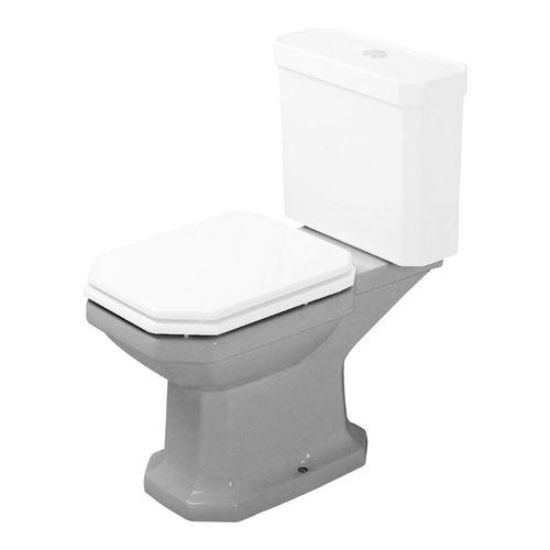 1930 Stand-WC Kombi. Abgang waagerecht 35,5 × 66,5 × 39 cm