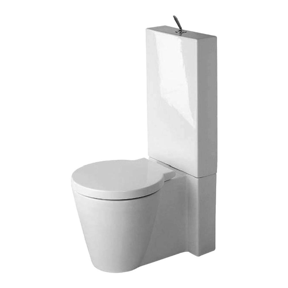 duravit duravit starck 1 stand wc f r kombi 640 mm 023309 design in bad. Black Bedroom Furniture Sets. Home Design Ideas