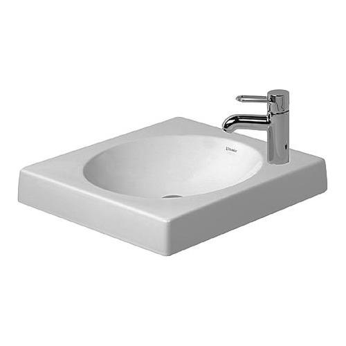 Duravit Architec Aufsatzbecken weiß 50 cm ohne Hahnloch geschliffen 032050