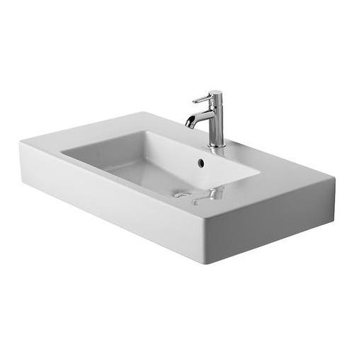 Vero Möbelwaschtisch 85 cm weiß für Einlocharmatur 032985