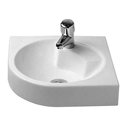 Duravit Architec Eck-Waschtisch weiß 45 cm 044845