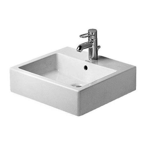 Vero Waschtisch 50 cm geschliffen für Einlocharmatur weiß 045450