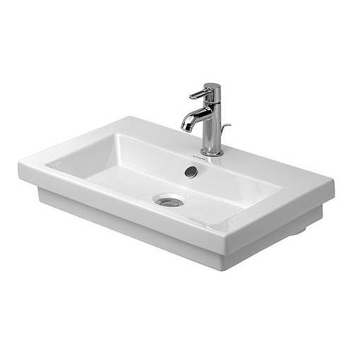 duravit duravit 2nd floor waschtisch ohne hahnloch 600 mm 049160 design in bad. Black Bedroom Furniture Sets. Home Design Ideas