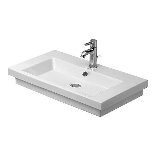 duravit duravit 2nd floor waschtisch ohne hahnloch 700 mm. Black Bedroom Furniture Sets. Home Design Ideas
