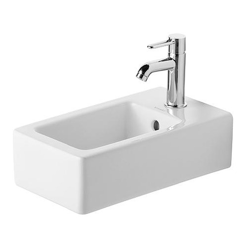 Duravit Vero Handwaschbecken 25 cm, für Einlocharmatur, 070225
