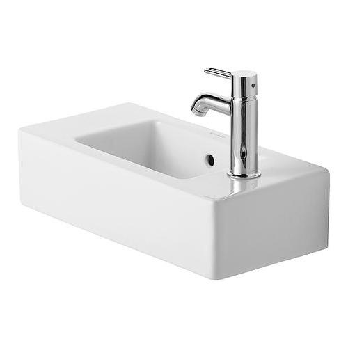 Duravit Vero Handwaschbecken 50 cm weiß Hahnloch links 070350