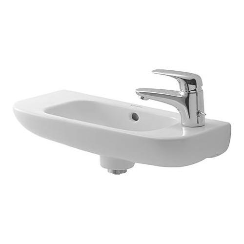 D-Code Handwaschbecken 500 mm Hahnloch links 070650