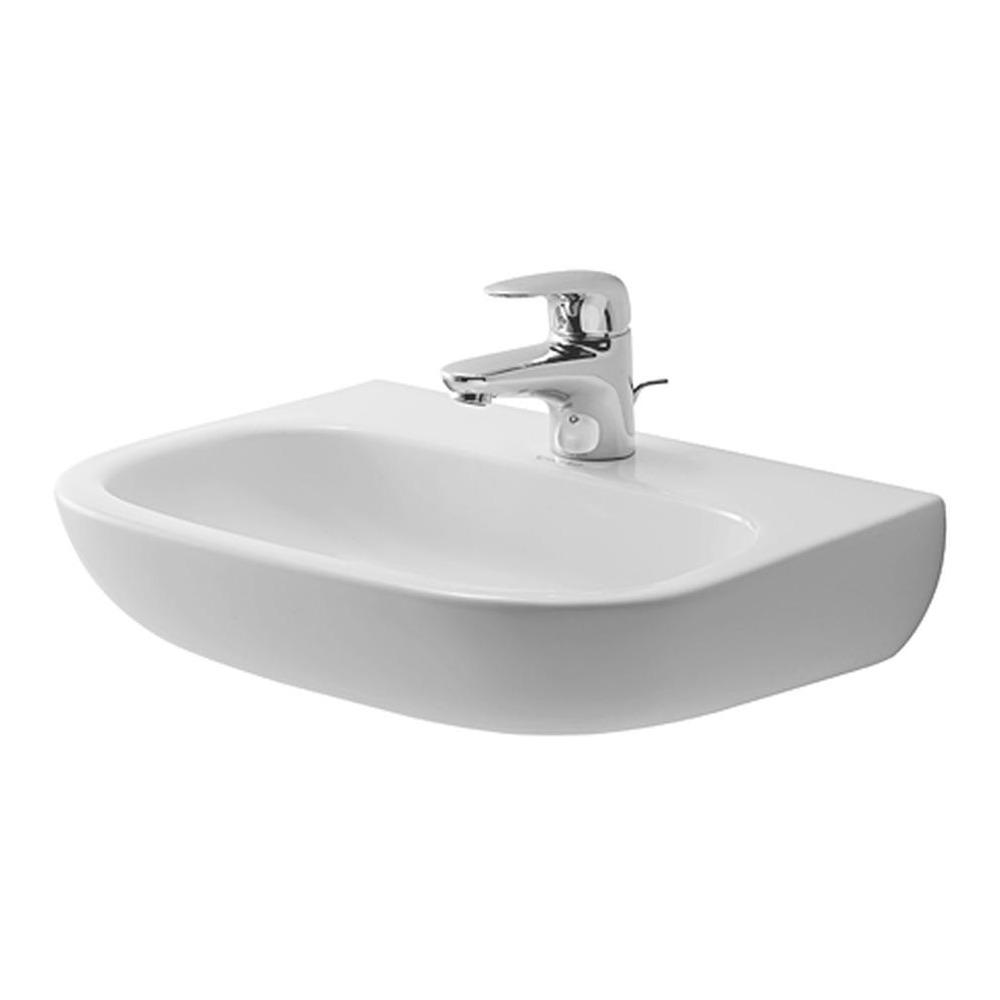 duravit duravit d code handwaschbecken med 450 mm ohne. Black Bedroom Furniture Sets. Home Design Ideas