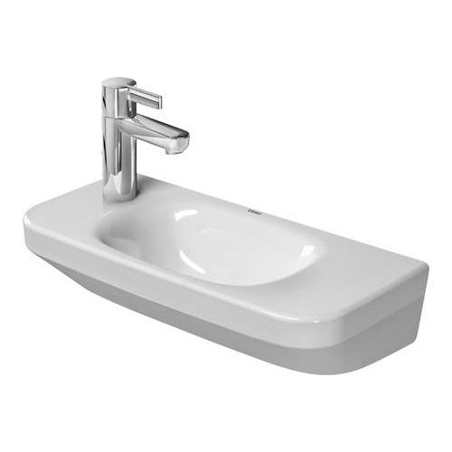 DuraStyle Handwaschbecken 500 mm, m. HLB, o. ÜL, HL rechts 071350