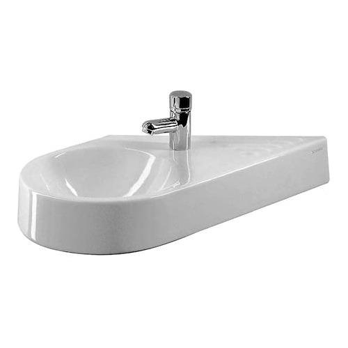 Architec Handwaschbecken weiß 64,5 cm Becken links 076465