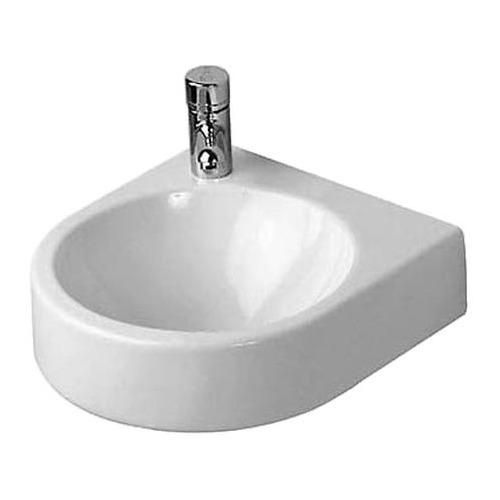 Duravit Architec Handwaschbecken weiß 36,0 cm Hahnloch links 076635