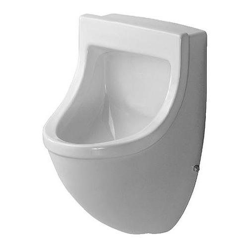 Starck 3 Urinal Zulauf von hinten mit Fliege 082135