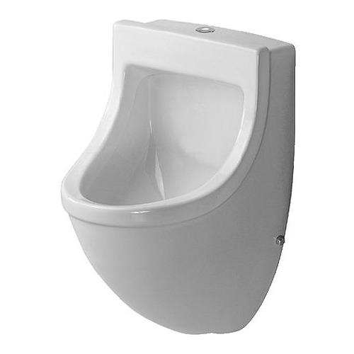 Starck 3 Urinal Zulauf von oben mit Fliege 082235