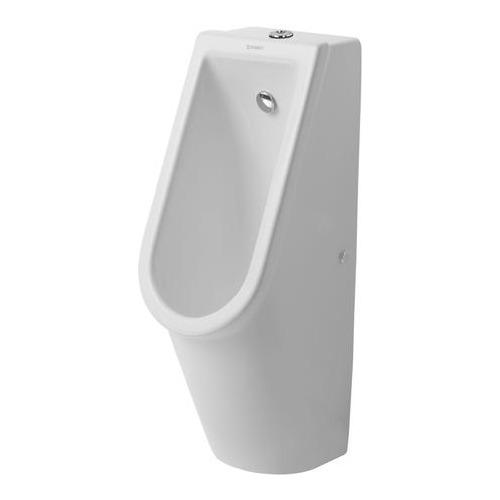 Duravit Starck 3 Urinal Zulauf von oben ohne Spülrand mit Fliege 082625