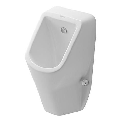 D-Code, Urinal, spülrandlos, Zulauf von hinten, mit Fliege