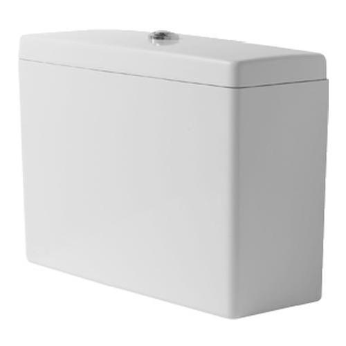 Starck 3 Spülkasten mit Dual Flush für Big Toilet chrom 092810