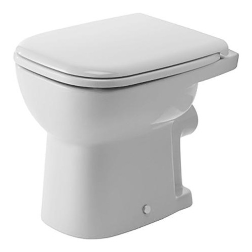 Duravit duravit d code stand wc 480 mm flachsp ler 210909 for Bad wc design