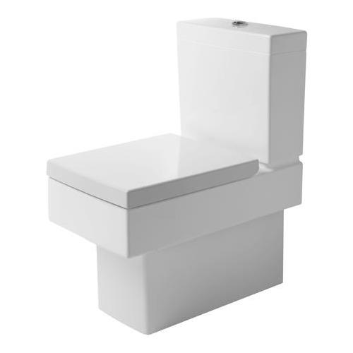 Vero Stand-WC Kombi Vario Tiefspüler 370x630mm weiß 211609