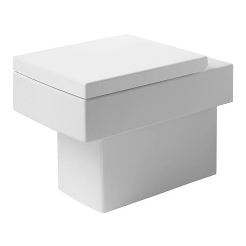 Vero Stand-WC weiß 370x570 mm, Abg. waagerecht 211709