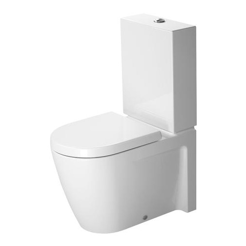 Duravit Duravit Stand-WC Kombi Starck 2 630 mm 214509 - Design in Bad