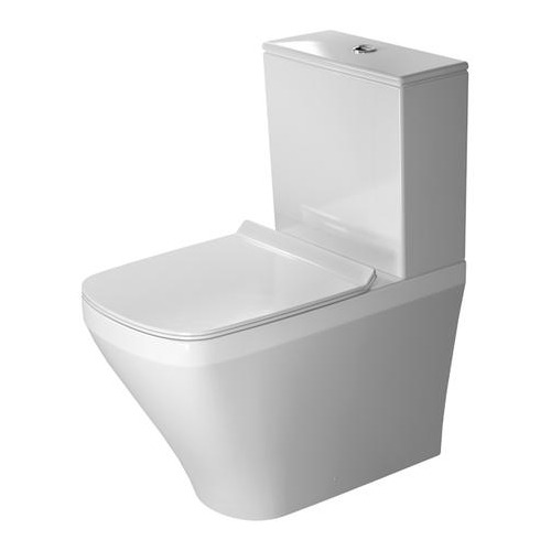 Durastyle Stand-WC Kombi 630 mm Tiefspüler, Abgang Vario, 215509
