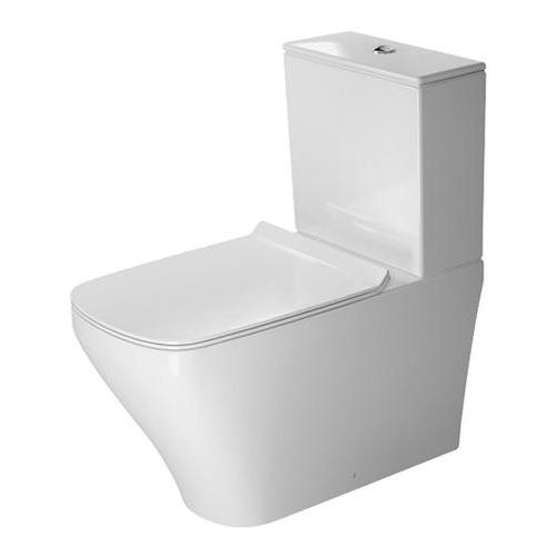 DuraStyle Stand-WC Kombi 700 mm Tiefspüler, Abg.Vario, weiss 215609