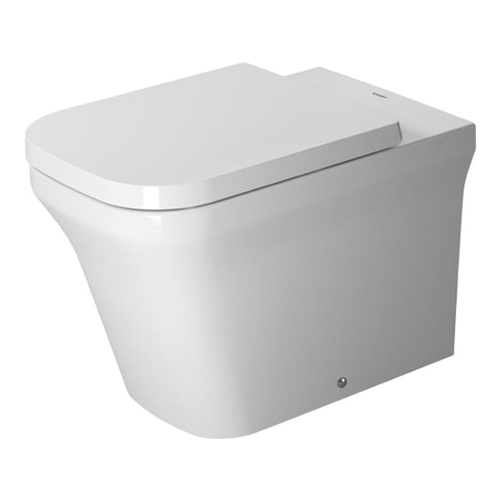 duravit duravit p3 comforts stand wc tiefsp ler rimless 216609. Black Bedroom Furniture Sets. Home Design Ideas