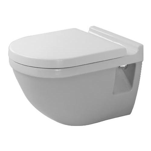 Duravit Set Starck 3 Wand-WC Tiefspüler 540 mm Wondergliss