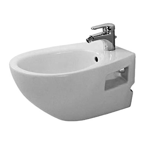 Duravit Duraplus Colomba Wand-Bidet weiß 575 mm 253210