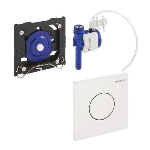 Betätigungsplatte Urinal-Strg. mit pneumatischer Spülausl. Sigma01 hochglanz verchromt 116011215