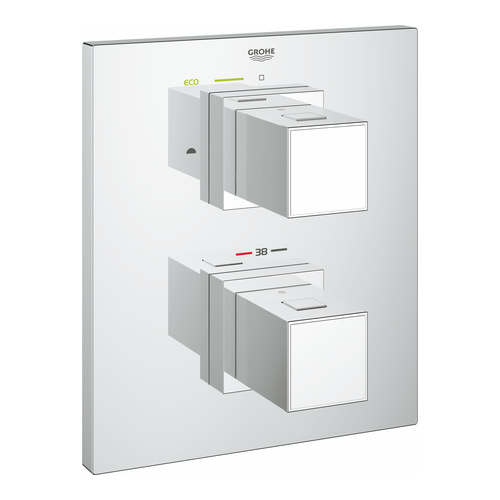 Grohtherm Cube Thermostat mit integrierter 2-Wege-Umstellung