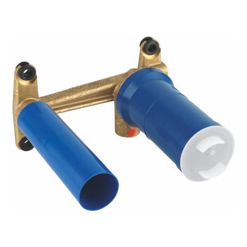 Eurostyle Einhand Unterputz-Universal-Einbaukörper, 2-Loch-Waschtisch-Batterien mit runder Hülse