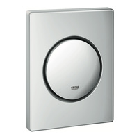 Nova Cosmopolitan Urinal-Betätigungsplatte 11,6 x 14,4 x 1,5 cm chrom