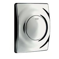 Urinal-Betätigungplatte Surf für Urinal manuelle Auslösung 11,6 x 14,4 x 3,5 cm chrom