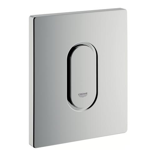 Arena Cosmopolitan verchromte Urinal-Betätigungsplatte für Urinal, manuelle Auslösung 11,6 x 14,4 x 1,2 cm