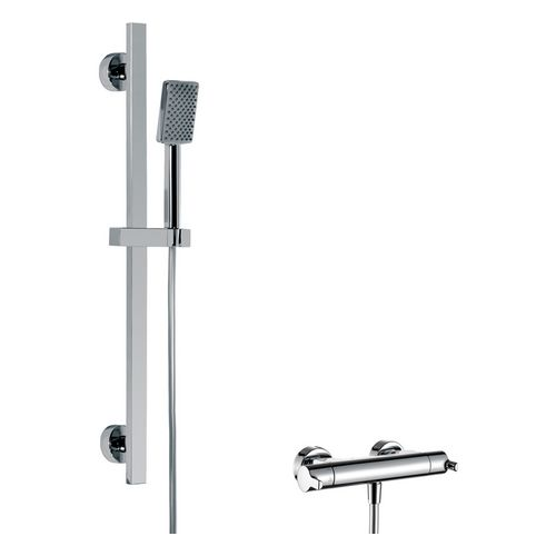 Shower Set 2.01 mit Safetouch-Thermostat-Armatur