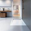 HSK Acryl-Duschwannen-Set mit integrierter Ablaufrinne schmal, superflach 90 × 140 × 7,5 cm 0